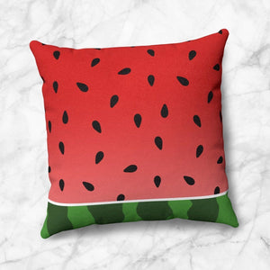 Watermelon Throw Pillow at Speckle Rock