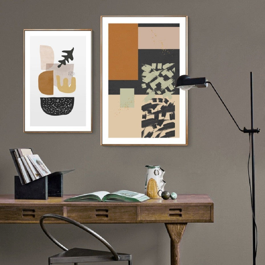 Nordic Posters Print Wall Art Picture Living Room - SheilaFans.com