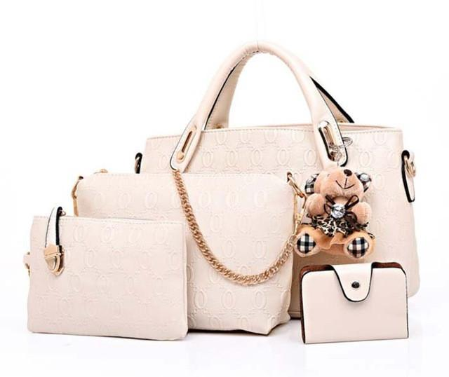 Fashion Women Handbags (4 Piece Set ) - SheilaFans.com