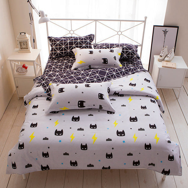 Children's Bedding Set. 3/4pcs, Bed Linen Duvet, Cover, Bed Sheet, Pillowcase