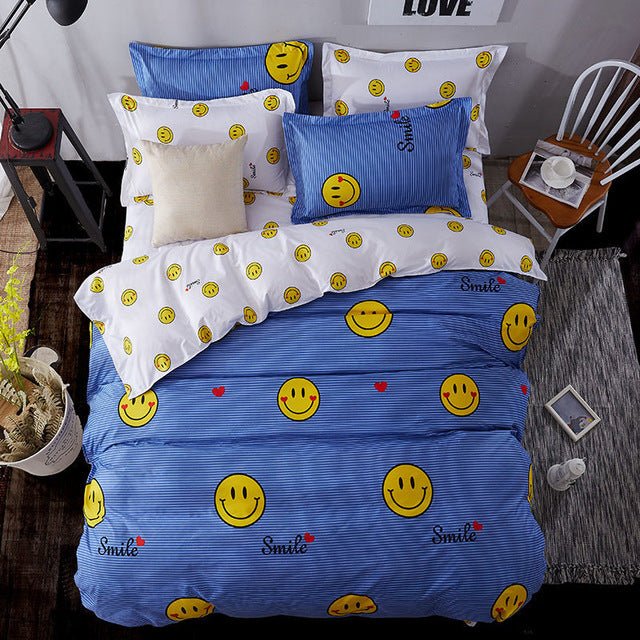Children's Bedding Set. 3/4pcs, Bed Linen Duvet, Cover, Bed Sheet, Pillowcase - SheilaFans.com