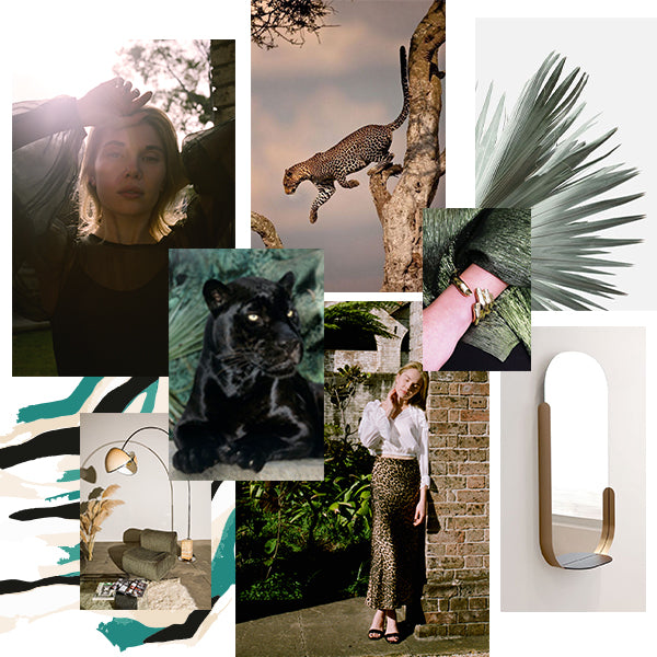 mlm label animal kingdom moodboard
