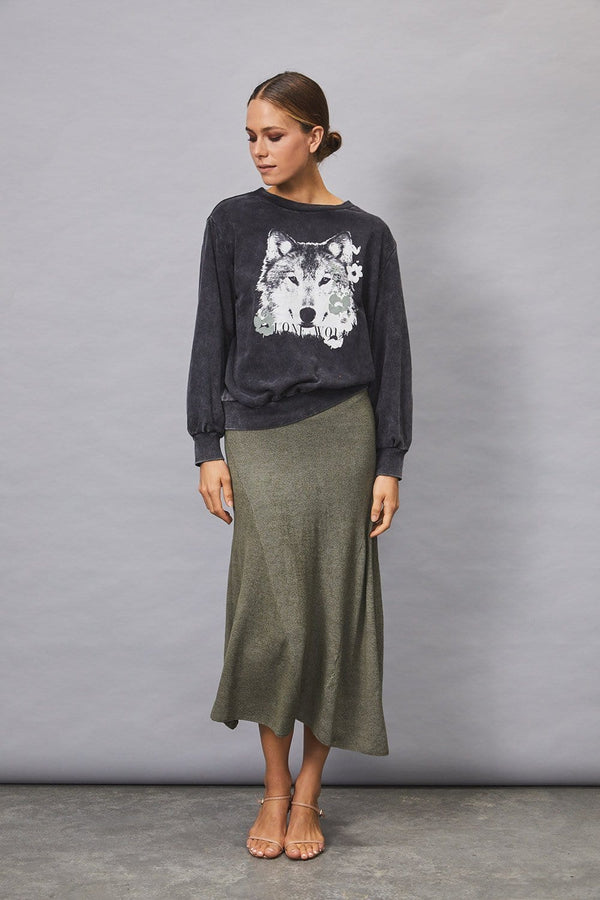Kingdom Knit Skirt - FINAL SALE
