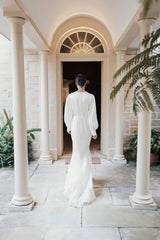 Lennon Silk Bridal Gown
