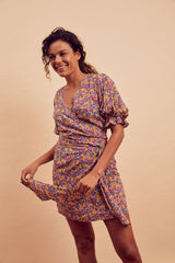 Alexa Wrap Dress
