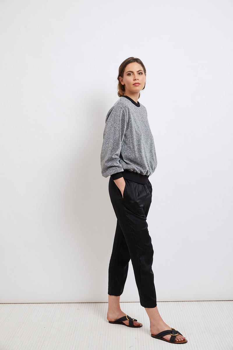 Manhattan Chrome Jumper - FINAL SALE