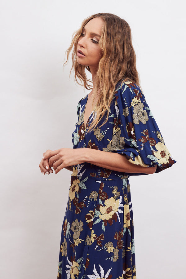 Orsay Wrap Midi Dress