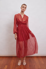 Tulum Silk Maxi - FINAL SALE