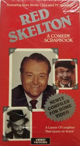 Red Skelton-A Comedy Scrapbook(VHS,1991)RARE VINTAGE COLLECTIBLE-SHIP N 24 HOURS