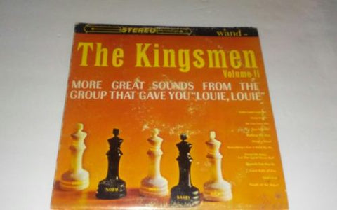 "The Kingsmen ""Volume 2"" Wand Records LP-659 MONO 1964 USA / Vintage Vinyl Vol II"