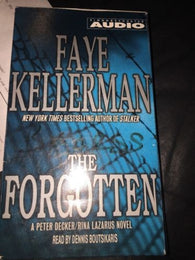 The Forgotten Faye Kellerman Audio Book 4 Cassette Tapes
