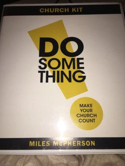 Christian AUDIO 4 CDs - Unabridged! DO Something - Miles McPherson
