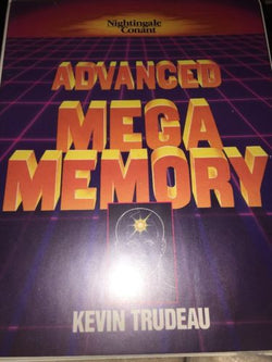 KEVIN TRUDEAU ADVANCED MEGA MEMORY CASSETTE TAPE VHS MENTAL SHARPNESS EXERCISE