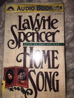 Home Song by LaVyrle Spencer-Romance Audiobook-Cassette Tapes-Very Good