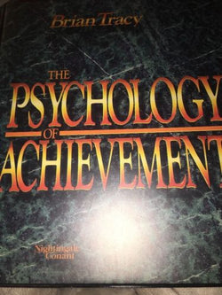 The Psychology of Achievement-Brian Tracy-Cassette-Like New-1986