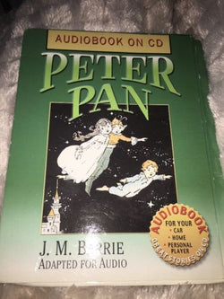 Peter Pan J. M. Barrie And Alice Wonderland Classic Childrens Audiobook on CD