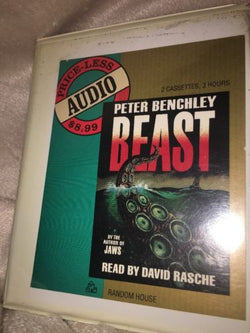 Beast by Peter Benchley Book on 2 Audio Cassettes Read by David Rasche New