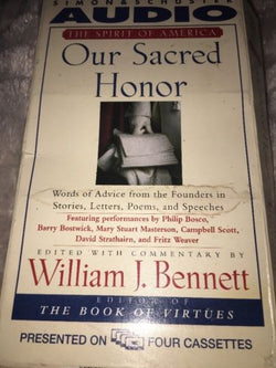 Our Sacred Honor **AUDIO BOOK**