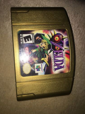Nintendo 64 N64 The Legend of Zelda: Majora's Mask Collectors Holo Cartridge