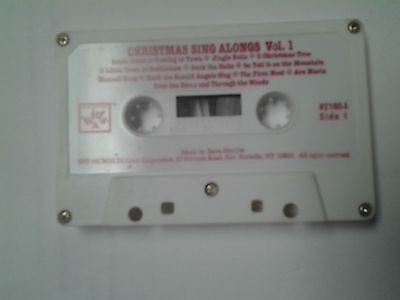 Christmas Sing Alongs Vol 1 Cassette Tape Steve Gruskin