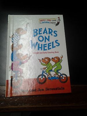 "Random House Bright And Early Books ""Bears On Wheels"" Grolier Book Club"