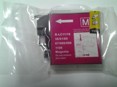 Aftermarket Magenta Ink Cartridge for Brother Printers