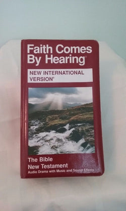 Faith Comes by Hearing Bible New Testament on Cassette-Audio &Sound Effects