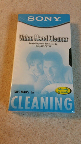 sony video head cleaner T-25CLD
