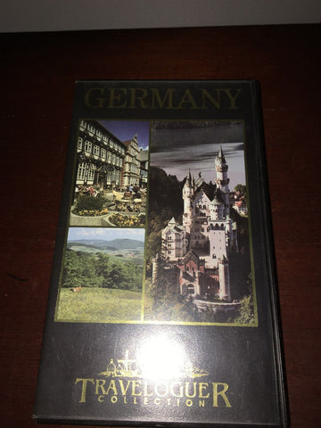 Germany VHS Tape By Traveloguer Collection Rare/Hard To Find