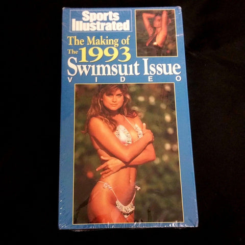 Sports Illustrated Kathy Ireland Making of the 1993 Swimsuit Issue Video VHS