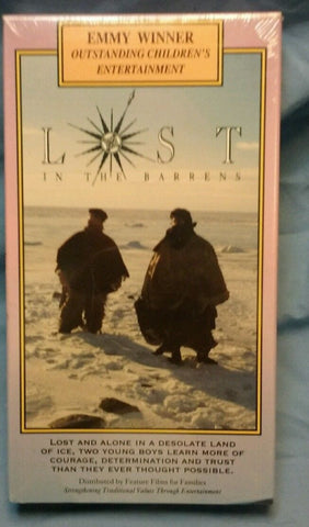Lost in the Barrens (VHS, 1992)