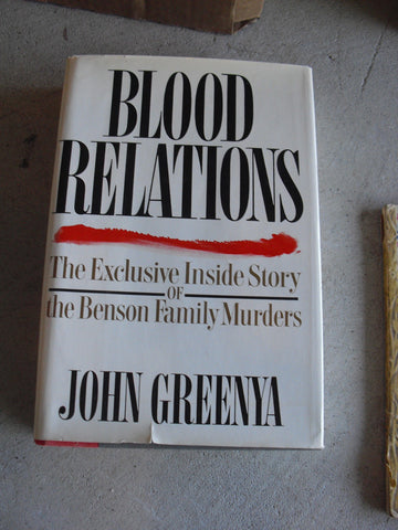 Book Blood Relations by John Greenya