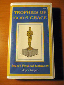 Joyce Meyer TROPHIES OF GOD'S GRACE