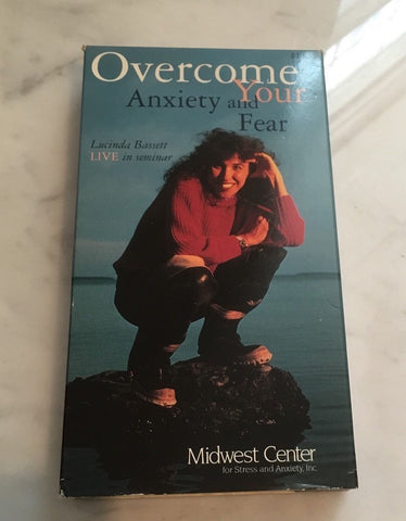 OVERCOME YOUR ANXIETY AND FEAR-Lucinda Bassett Live Seminar VHS