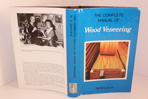 Lincoln COMPLETE MANUAL WOOD VENEERING Art & Practice Woodwork Wood Working