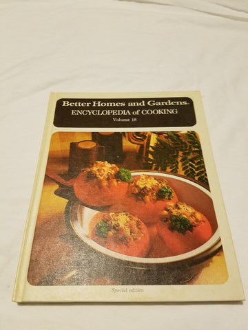 BETTER HOMES AND GARDENS ENCYCLOPEDIA OF COOKING VOLUME 18 (BETTER HOM