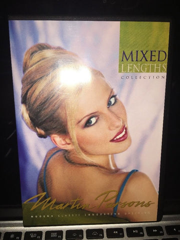 Martin Parsons Mixed Lengths Hairstyling 2 DVD Set in original case