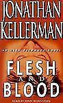 FLESH and BLOOD by Jonathan Kellerman  -audiobook  2001 - 4 cassettes 6 hrs - EC