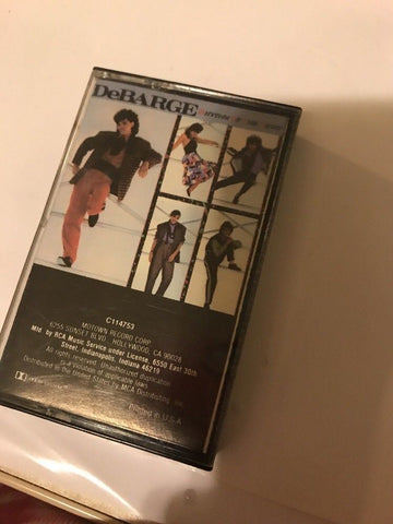 """Rhythm of the Night"" Cassette Tape by DeBarge 1985 VG"