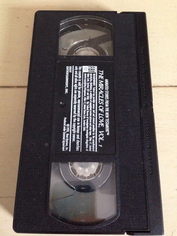 The Miracles of Love Music Video Volume 1 (1990, VHS)