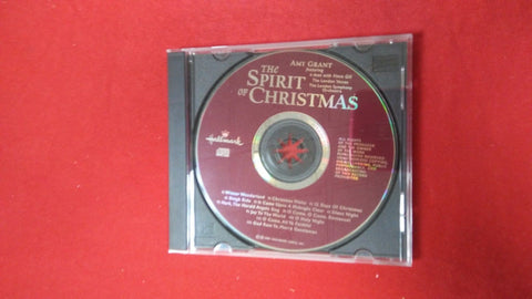 Amy Grant The Spirit Of Christmas By Hallmark CD USED No Dust Cover