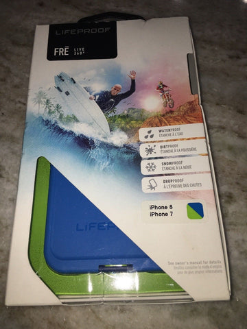 NEW LIFEPROOF FRE Apple iPhone 8 / 7 Case - Banzai Blue