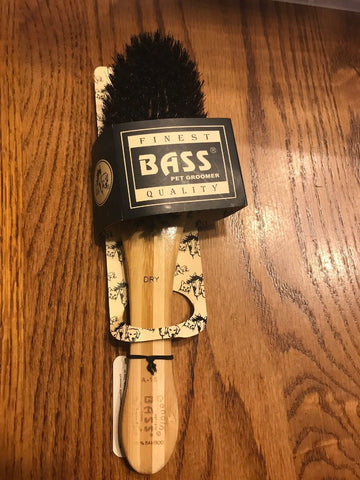 Bass Brushes | Luxury Grade Pet Brush | Shine & Condition | 100% Pure Ships N 24