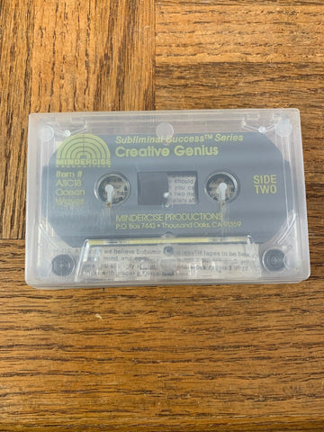 Subliminal Creative Genius Cassette