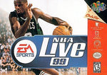 NBA LIVE 99 --- NINTENDO 64 N64 - Tested