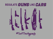 Regulate Guns Like Cars T-Shirt