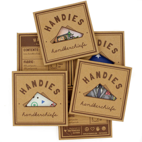 Handies Handkerchiefs and Pocket Squares - All purpose accessory