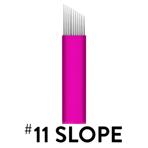 11 Slope - Pink Collection Microblade