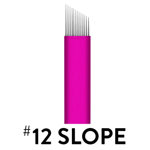 12 Slope - Pink Collection Microblade