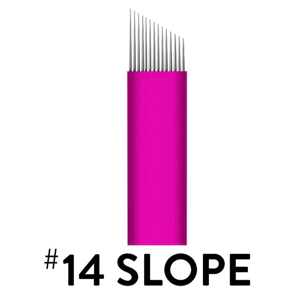 14 Slope - Pink Collection Microblade